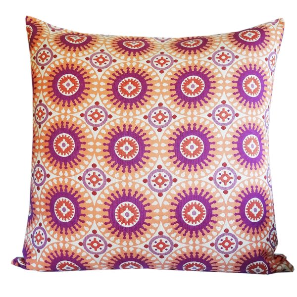Marrakesh - Orange 85x85cm floor cushion