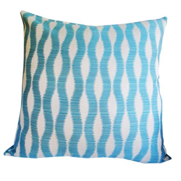 Bora Bora Turquoise Floor Cushion 85x85cm Sunbrella - Outdoor Interiors Australia