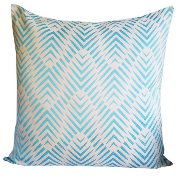 Palm Cove - Turquoise - 85cm x 85cm floor cushion
