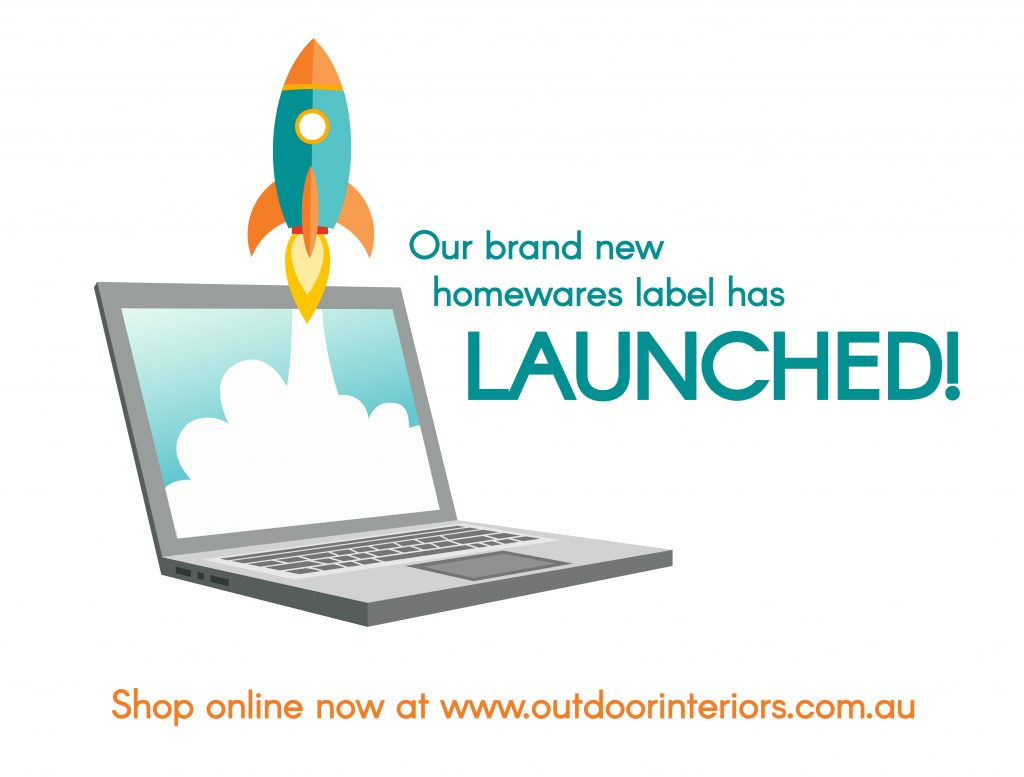 Outdoor Interiors new outdoor homewares range has officially launched!