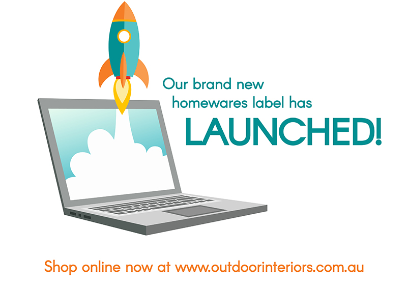 Outdoor Interiors new outdoor homewares brand has officially launched!