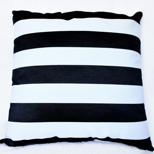 Monte Carlo - Black - 85cm x 85cm Floor Cushion