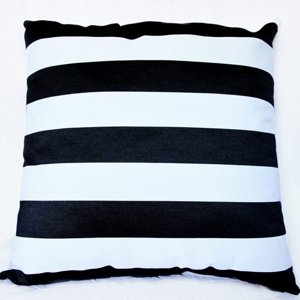 Monte Carlo - Black - 85cm x 85cm Floor Cushion