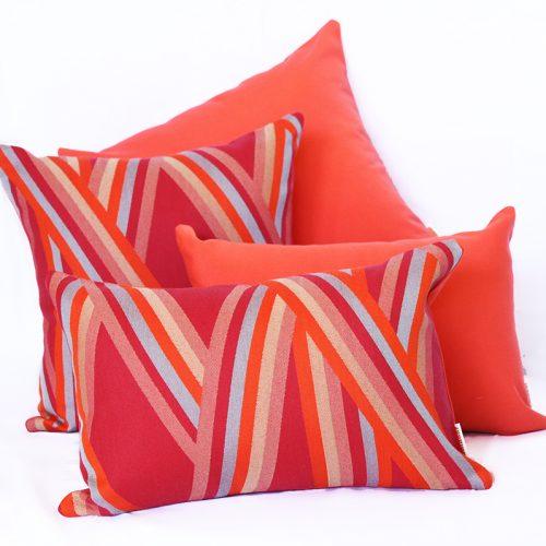 St Tropez - Coral Sunbrella Outdoor Cushions