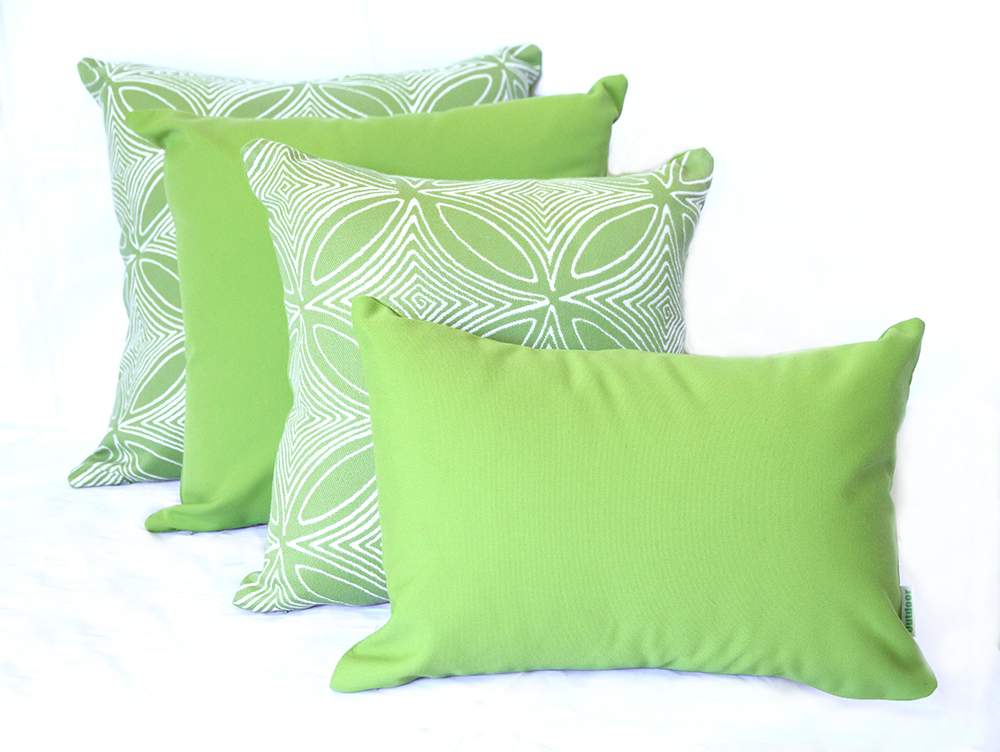 Malibu - Lime Outdoor Cushion