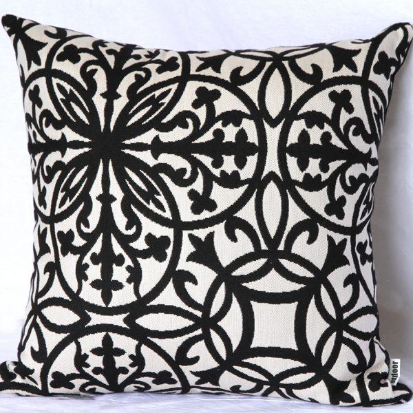 Amalfi - Black 85x85cm Floor Cushion