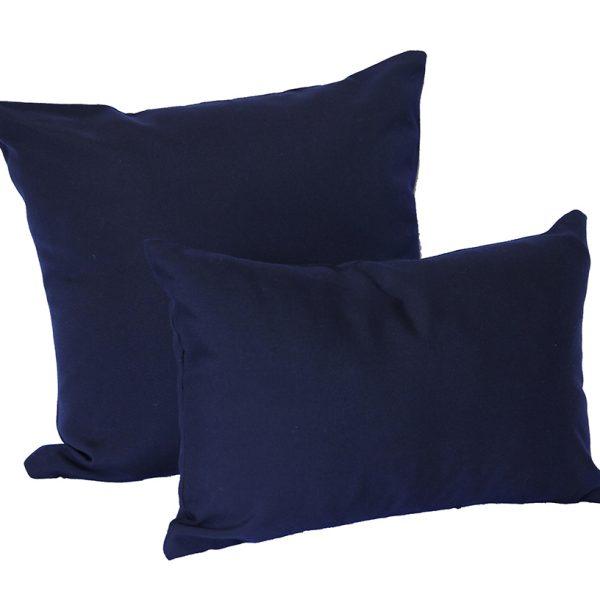 Navy Sunbrella Canvas Outdoor Cushions - Outdoor Interiors Australia