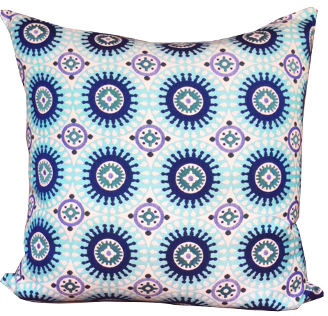 Marrakesh - Blue 85x85cm Floor Cushion