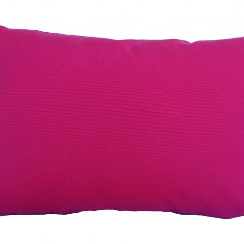 Pink Sunbrella cushion cover