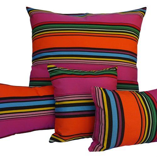 Rio - Pink Sunbrella outdoor cushion