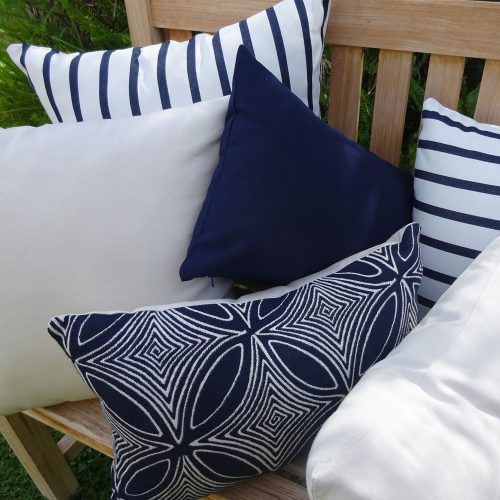 Navy Group - Sunbrella Outdoor Cushions