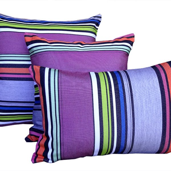 Rio - Purple Sunbrella outdoor cushion