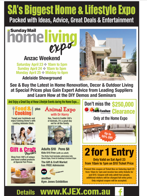 Sunday Mail Home Living Expo