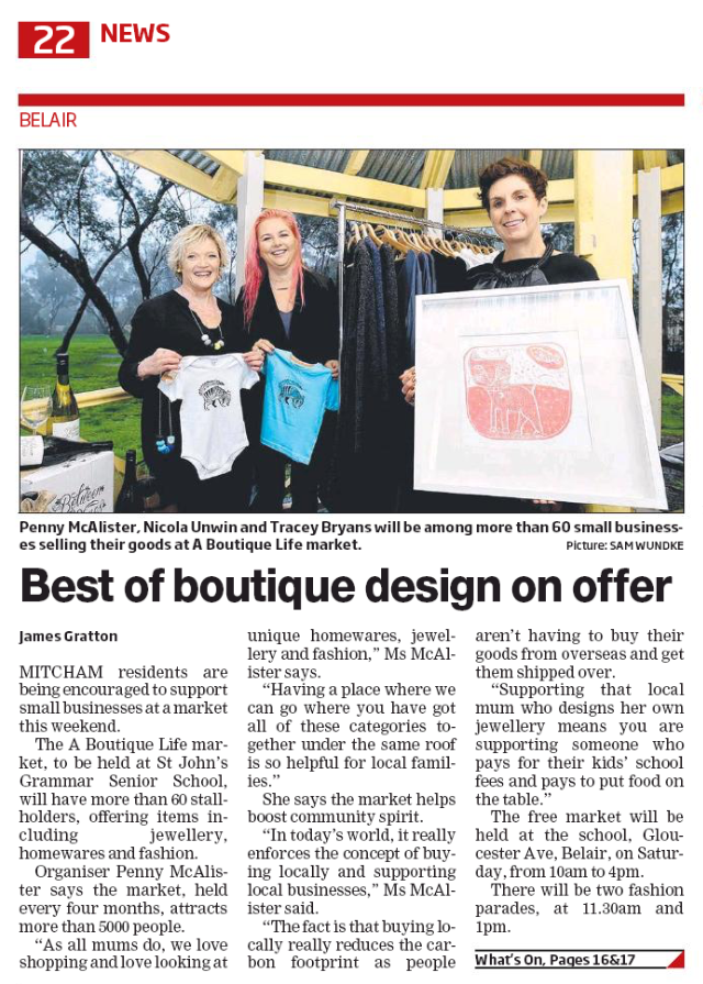 Join Us at A Boutique Life Design Market - June 19th