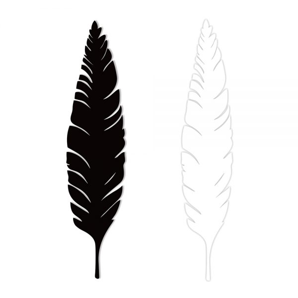 Feather - Steel Artwork - Outdoor Interiors