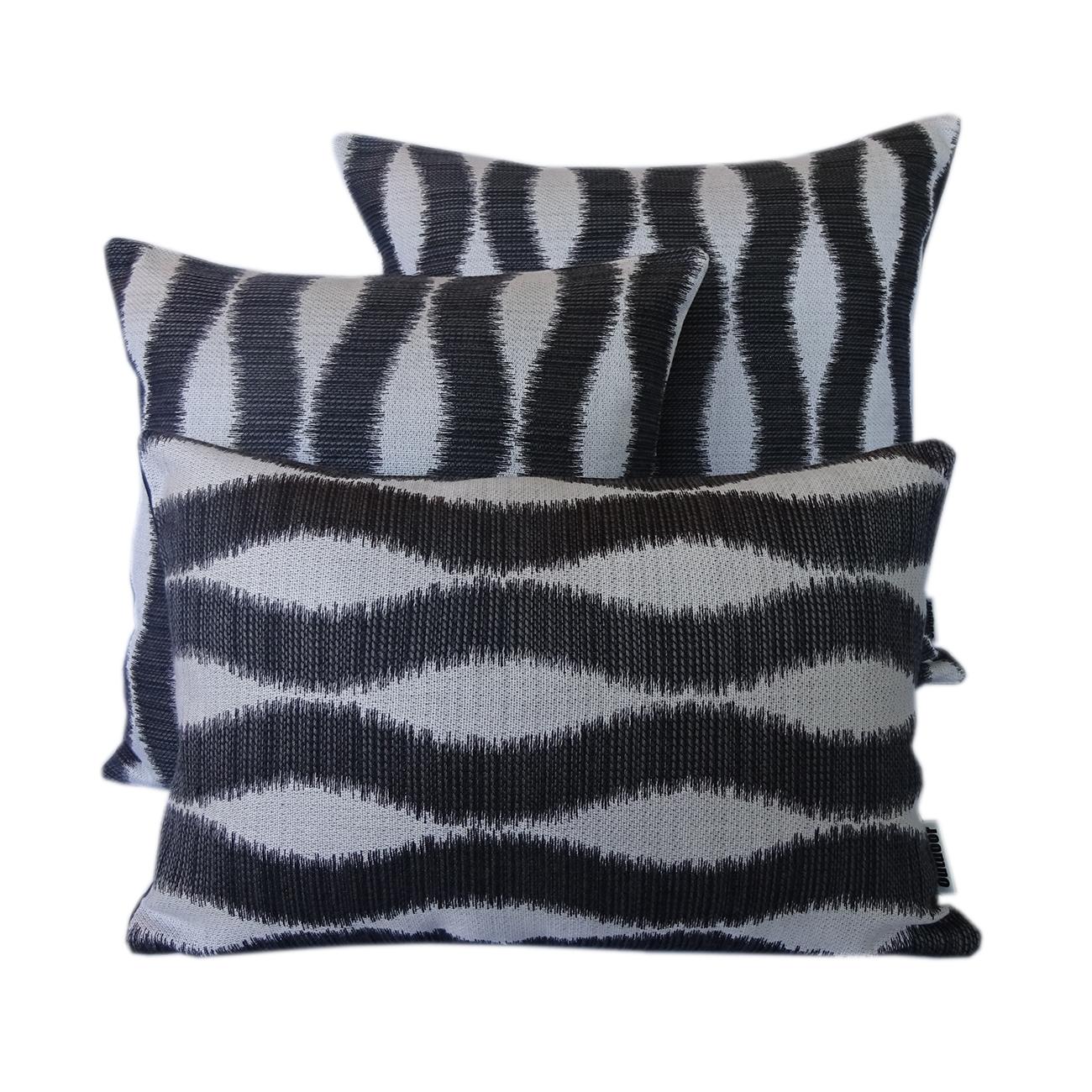 Bora Bora - Black - Outdoor Cushion - Outdoor Interiors Australia
