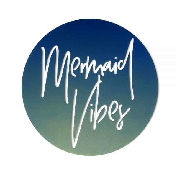 Mermaid Vibes Steel Artwork - Outdoor Interiors Australia