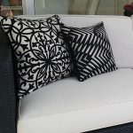 Palm Cove Black and Amalfi Black on outdoor lounge