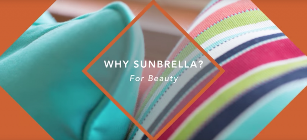 Why choose Sunbrella fabrics?