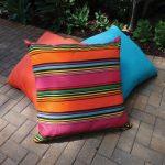 Rio Pink Sunbrella Floor Cushion