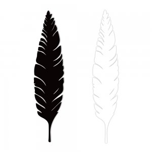Feather – Steel Artwork