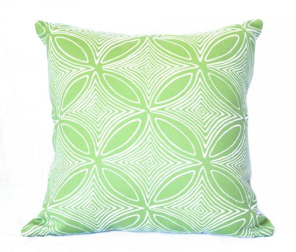 Malibu Lime Outdoor Cushion Sunbrella Outdoor Interiors
