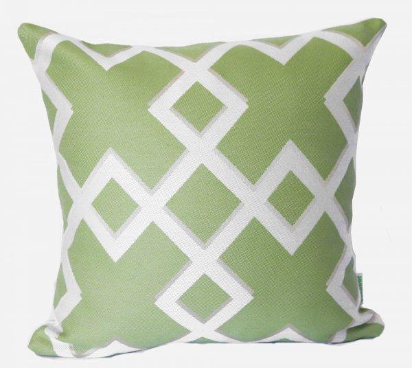 Salamanca Lime Outdoor Cushion Sunbrella