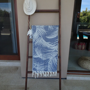 Palm Springs Navy Turkish Towel