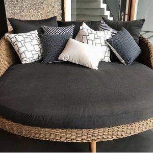 Pago-Pago – Dark-Blue – Outdoor Cushion