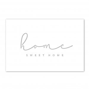 Home Sweet Home – Steel Artwork