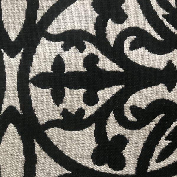 Amalfi Black Sunbrella Fabric Swatch