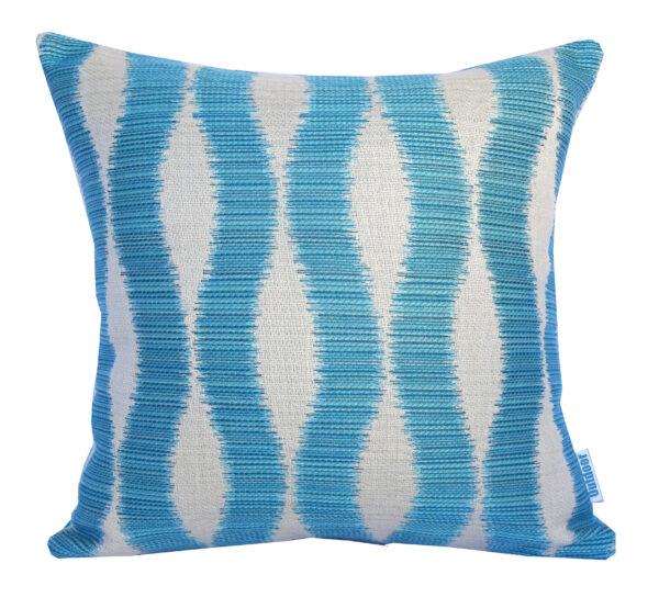Bora-Bora - Turquoise - Outdoor Cushion Sunbrella