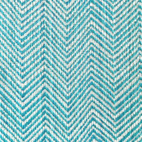 Chevron Turquoise Sunbrella Fabric colour swatch