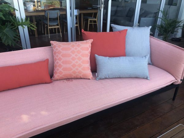 Sunbrella outdoor cushions Rust ranges from Outdoor Interiors