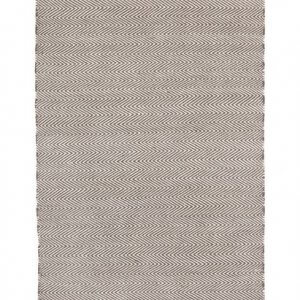 Herringbone – Grey – Handwoven P.E.T. Outdoor Rug