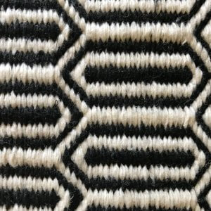 Kalinga – Black – Handwoven P.E.T. Outdoor Rug