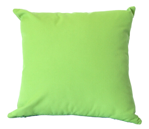 Lime Sunbrella fade and water resistant outdoor cushion