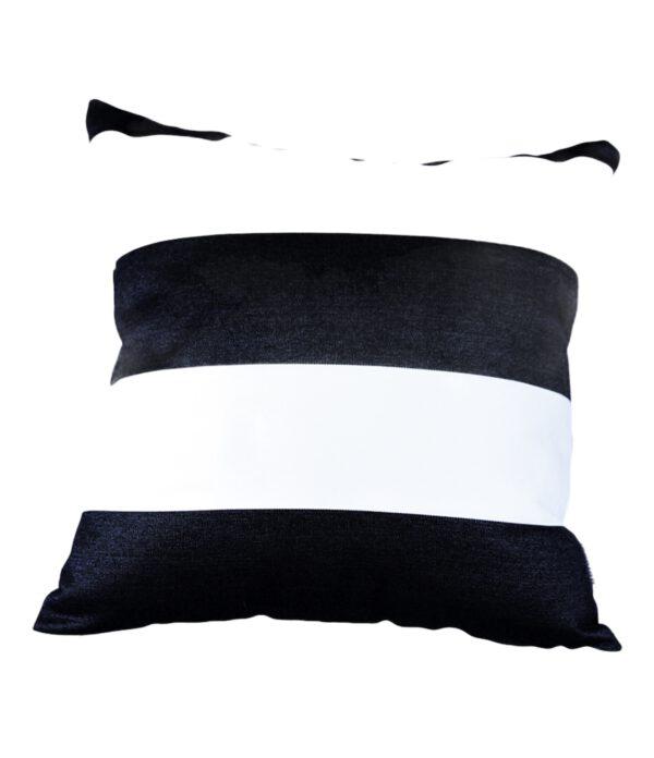 Monte Carlo Black 40x40cm Sunbrella fade and water resistant outdoor cushion