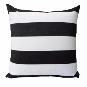 Sunbrella Outdoor Cushion Black – Monte Carlo