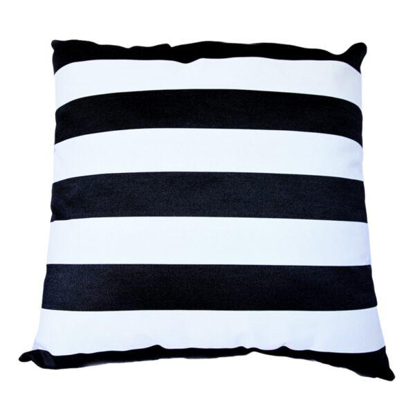 Monte Carlo Black 85x85cm floor cushion