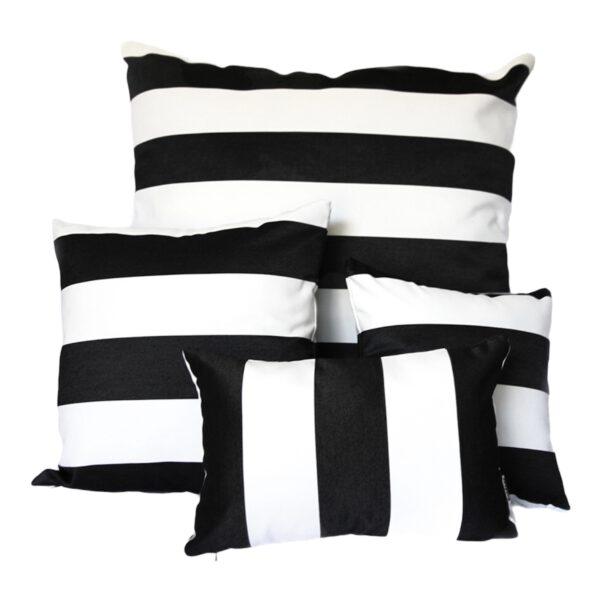 Monte Carlo Black Sunbrella fade and water resistant outdoor cushion