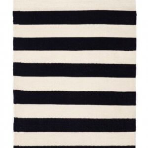 Nantucket – Black – Handwoven P.E.T. Outdoor Rug