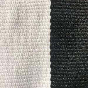 Stripe – Black – Handwoven P.E.T. Outdoor Rug