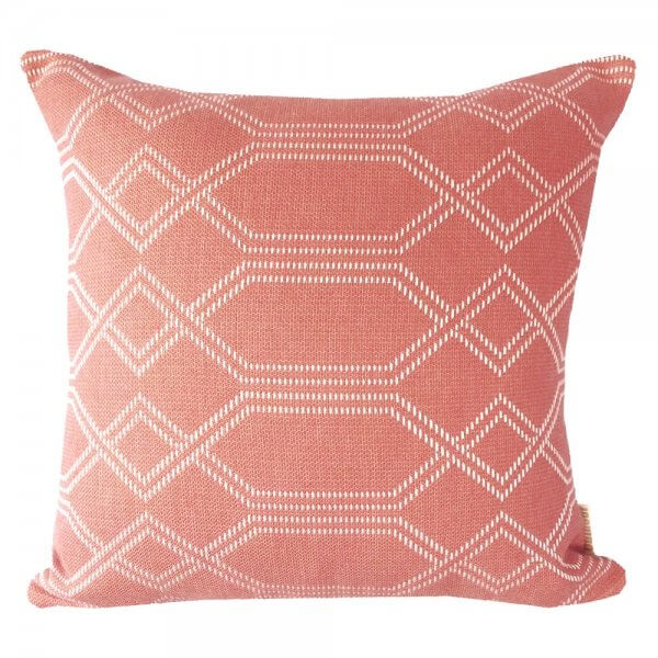 Navajo Guava Sunbrella Outdoor Cushion