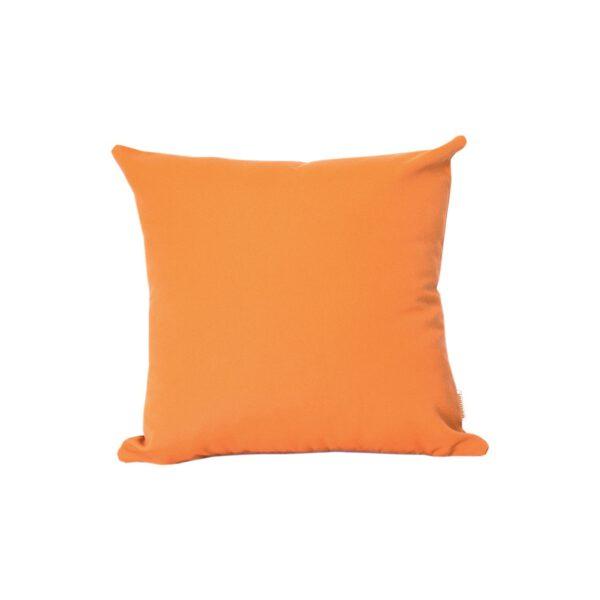 Orange 85x85cm Sunbrella outdoor cushion