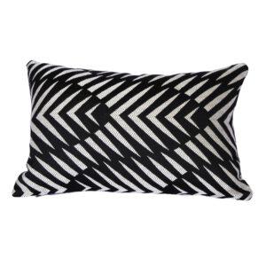Palm Cove – Black – Outdoor Cushion
