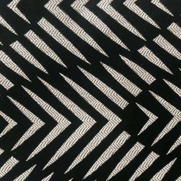 Palm Cove Black Sunbrella Fabric Swatch