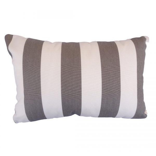 Positano Grey 30x45cm vertical Sunbrella outdoor cushion