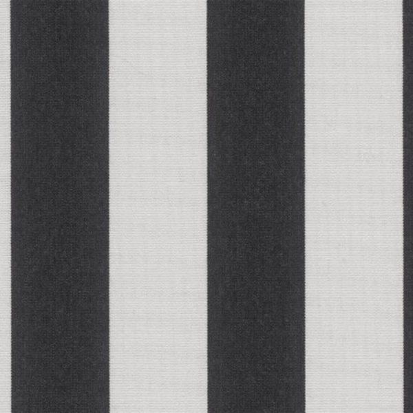 Positano Black Sunbrella fabric swatch