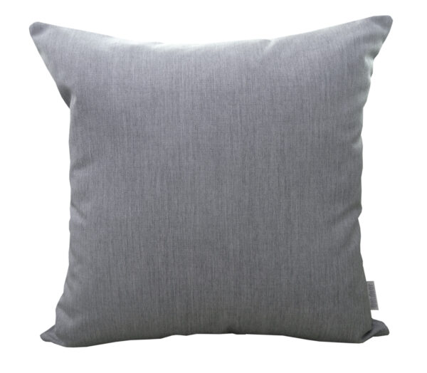 Silver Grey 45x45cm Sunbrella outdoor cushion from Outdoor Interiors